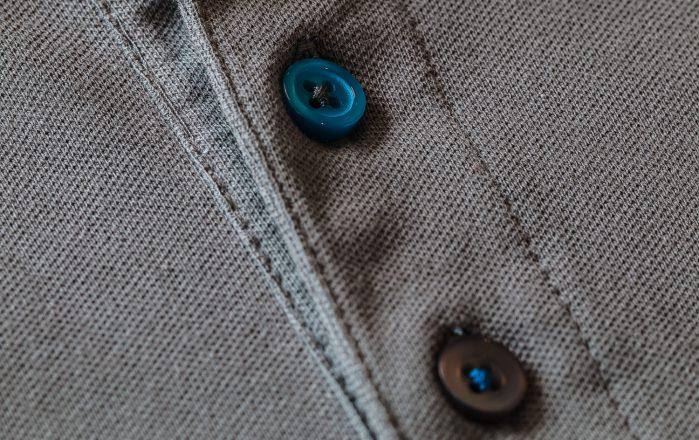 Bedrijfskleding unieke knopen