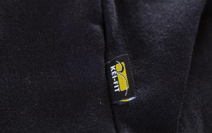 Sidetag met logo